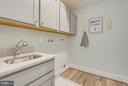 Laundry room on Owners suite level - 299 BONHEUR AVE, GAMBRILLS