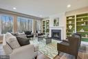 Family room with beautiful view - 299 BONHEUR AVE, GAMBRILLS