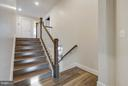 Hallway leading up to 4 additional bedrooms - 299 BONHEUR AVE, GAMBRILLS