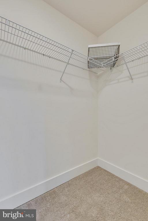 Walk in closet for bedroom 4 - 299 BONHEUR AVE, GAMBRILLS