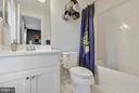 Ensuite  bath to bedroom 2 - 299 BONHEUR AVE, GAMBRILLS
