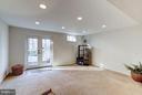 Lower Level Family Room - 11657 GILMAN LN, HERNDON