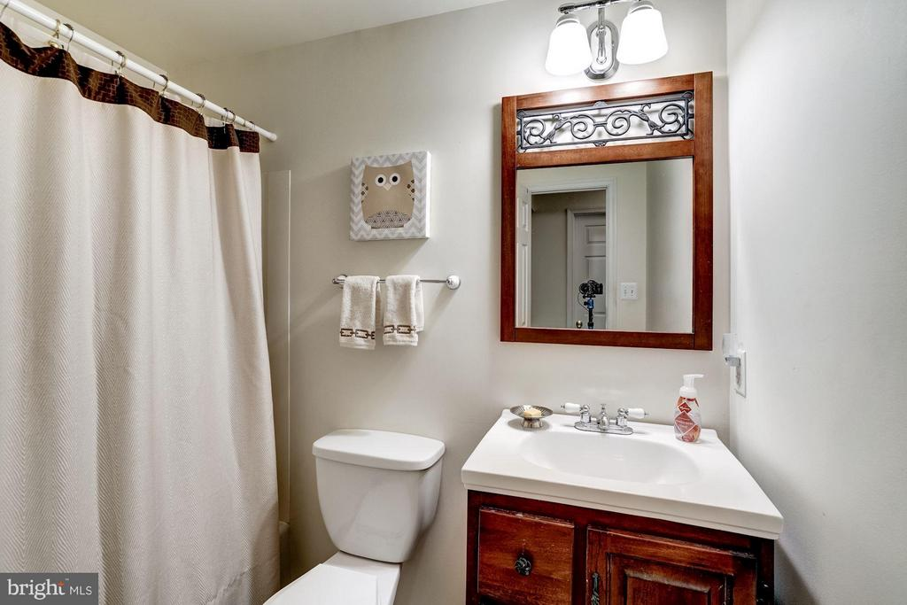 Full bath on lower level - 11657 GILMAN LN, HERNDON