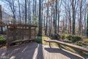 View from Deck - 11657 GILMAN LN, HERNDON