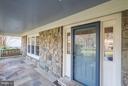 Flagstone porch and patio - 11657 GILMAN LN, HERNDON