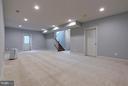 Finished Rec Room - 7769 JULIA TAFT WAY, LORTON