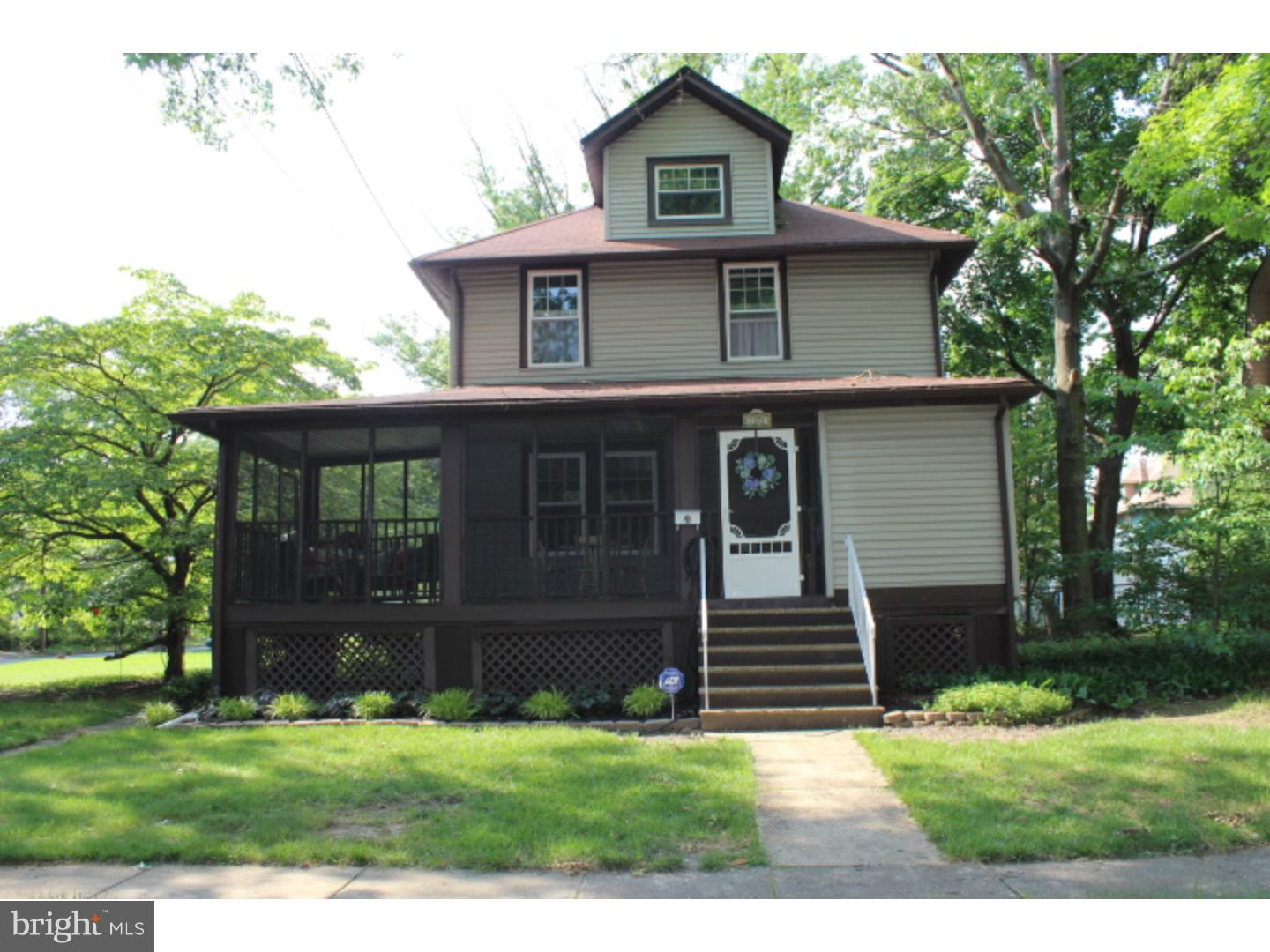 Single Family Home for Sale at 1121 ELM Avenue Haddon Township, New Jersey 08107 United StatesMunicipality: Haddon Township