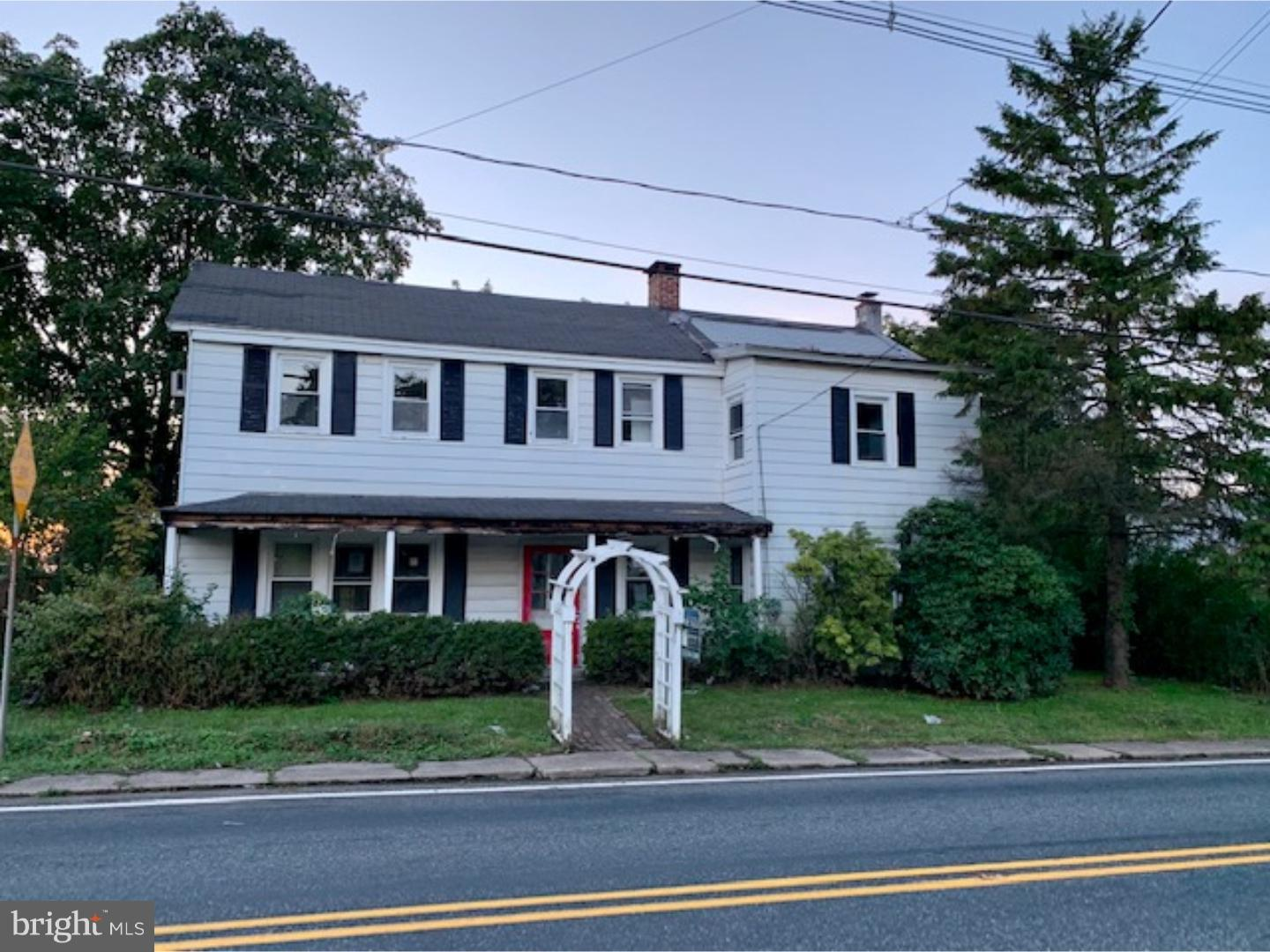 Single Family Home for Sale at 1041 COUNTY RD 519 Frenchtown, New Jersey 08825 United StatesMunicipality: Kingwood Township