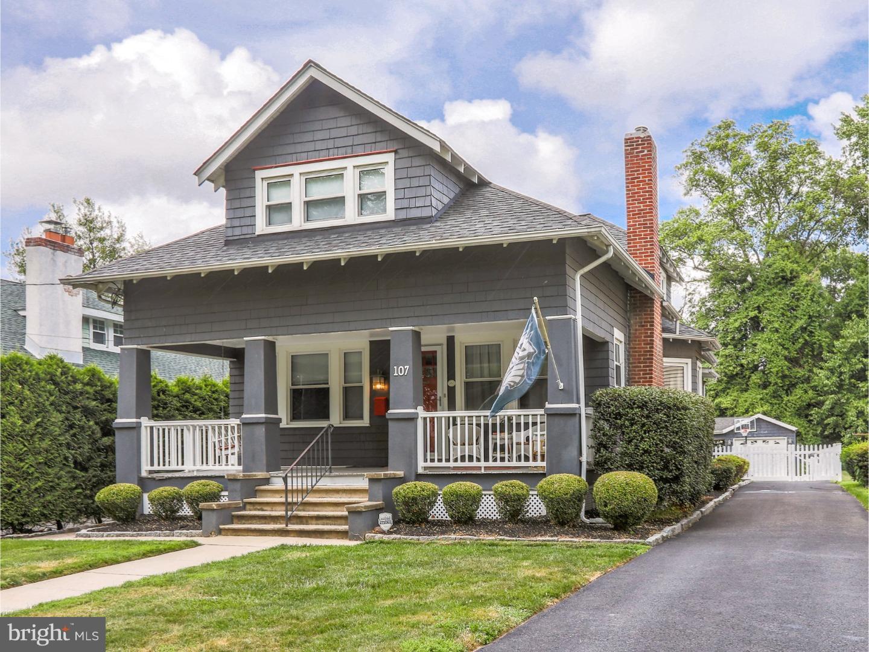 Частный односемейный дом для того Продажа на 107 10TH Avenue Haddon Heights, Нью-Джерси 08035 Соединенные Штаты