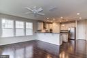 Kitchen with Morning Room - 16765 MILL STATION WAY #43, DUMFRIES