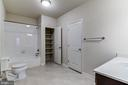 Finished Basement Full Bath - 16765 MILL STATION WAY #43, DUMFRIES
