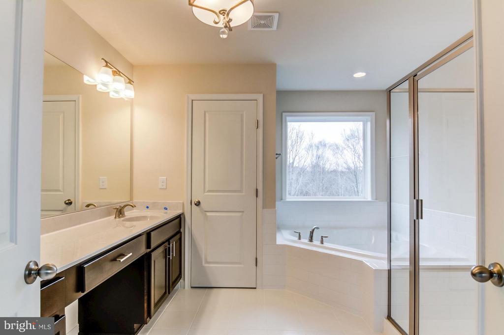 Master Bathroom - 16765 MILL STATION WAY #43, DUMFRIES