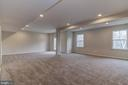 Finished Rec Room - 16765 MILL STATION WAY #43, DUMFRIES