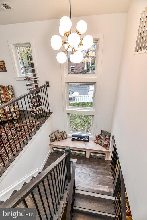 Stairs to Lower Level - 2616 WEST STREET, FALLS CHURCH