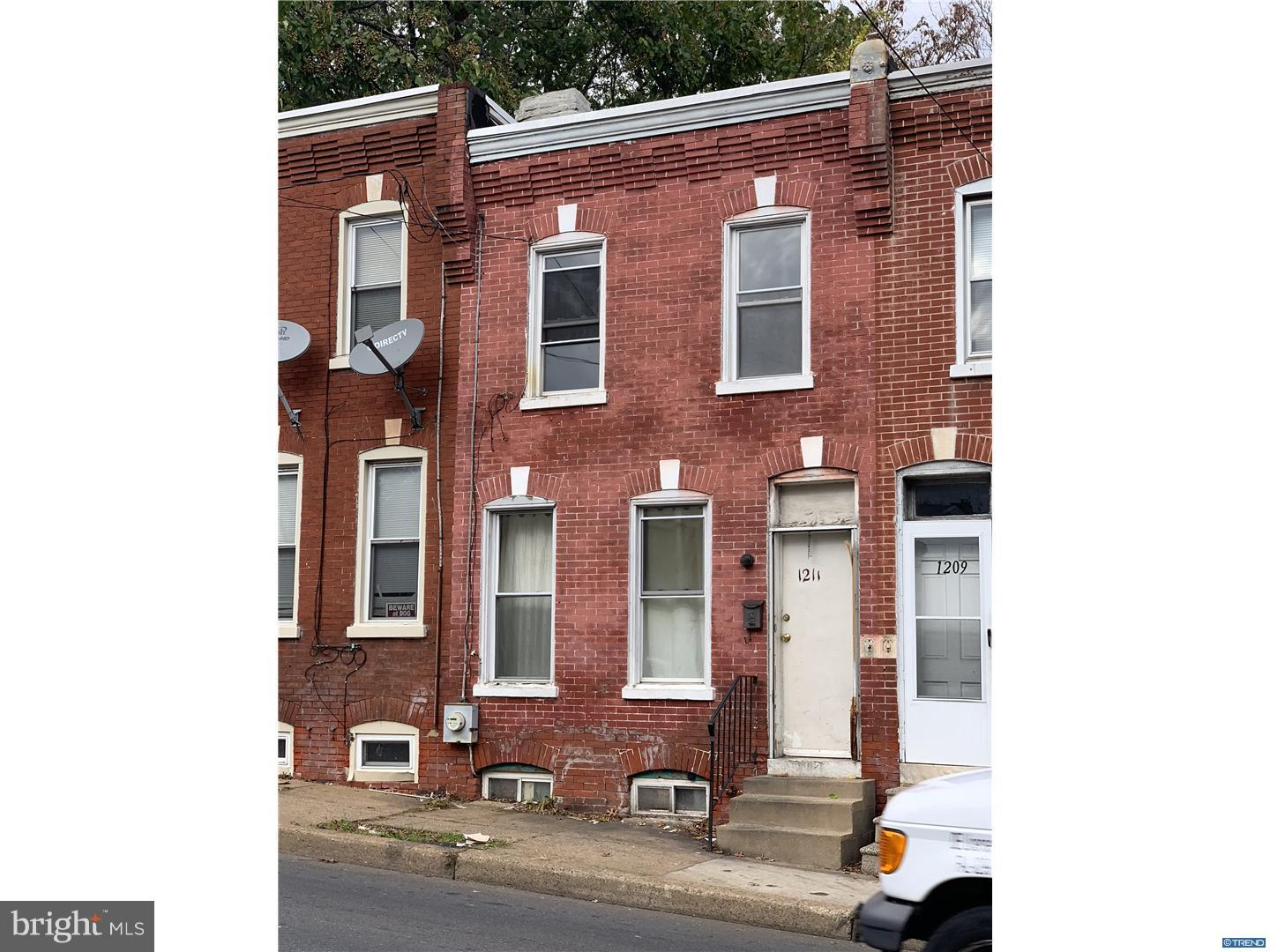 Single Family Home for Sale at 1211 W 2ND Street Wilmington, Delaware 19805 United States