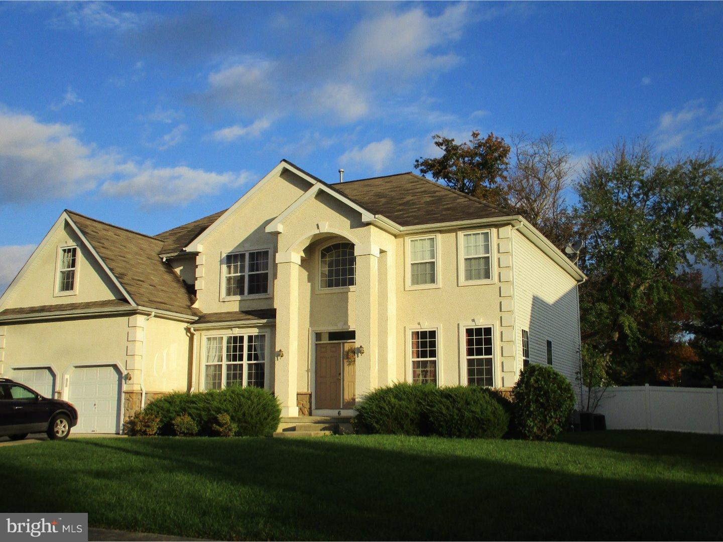 Single Family Home for Sale at 6 ENCLAVE Court Evesham Twp, New Jersey 08053 United States