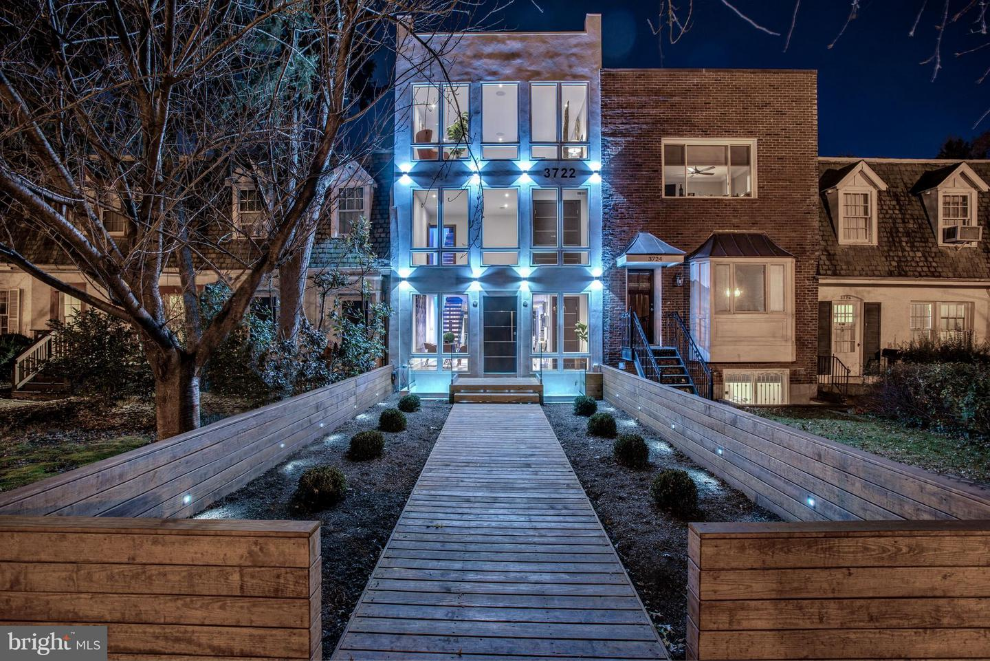 Single Family for Sale at 3722 R St NW Washington, District Of Columbia 20007 United States
