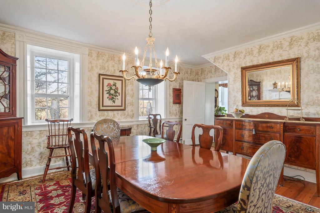 Dining Room - 18483 SILCOTT SPRINGS RD, PURCELLVILLE