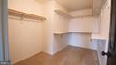 Walk-in closet - 50 LANDMARK DR, STAFFORD