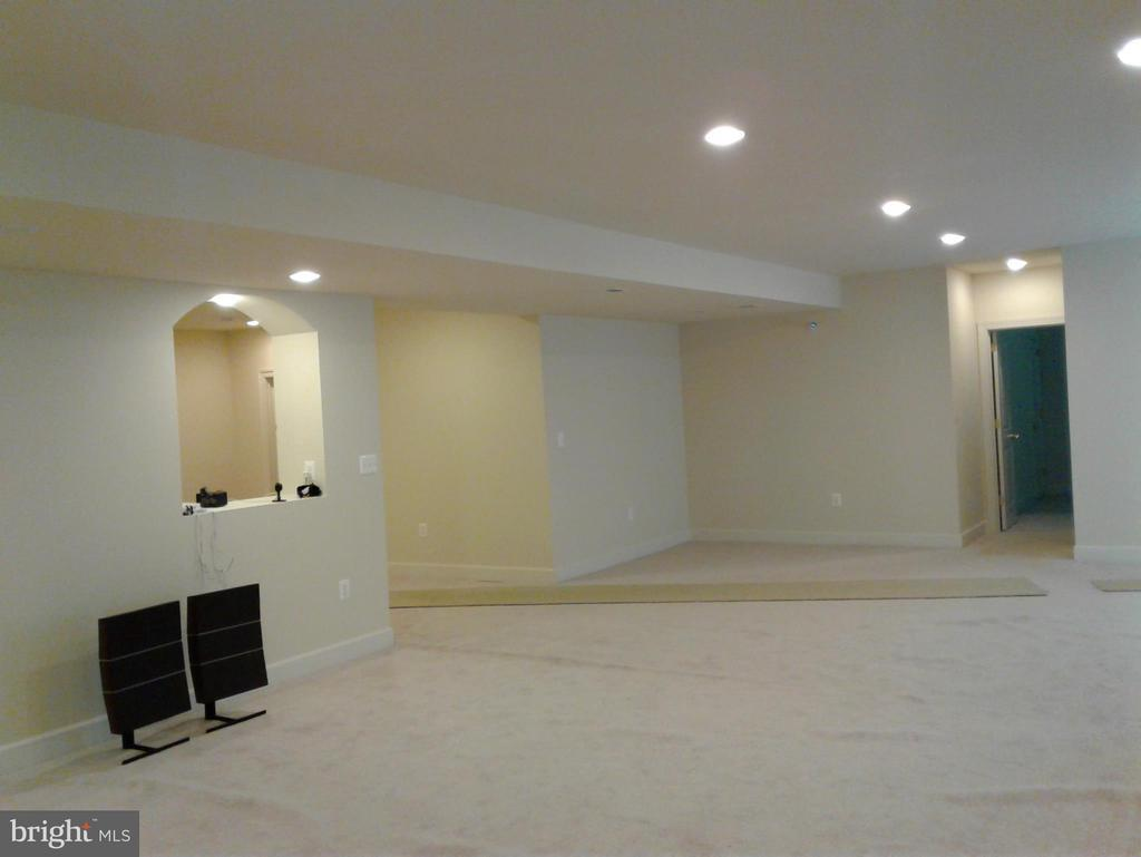 Basement Large Room with Full Bath/ Bedroom - 18275 GLEN OAK WAY, LEESBURG