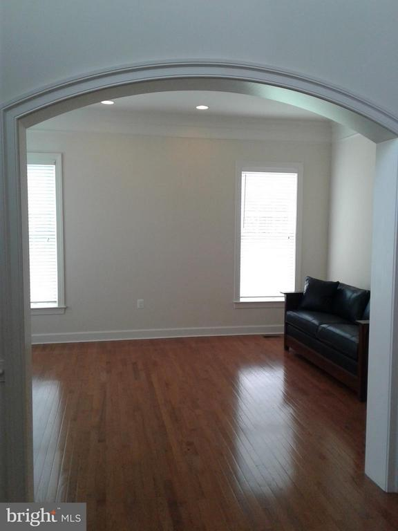 Living Room with~Wooden Floors - 18275 GLEN OAK WAY, LEESBURG