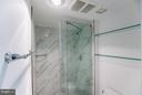 Marble Shower in Second Bathroom - 1230 23RD ST NW #503, WASHINGTON