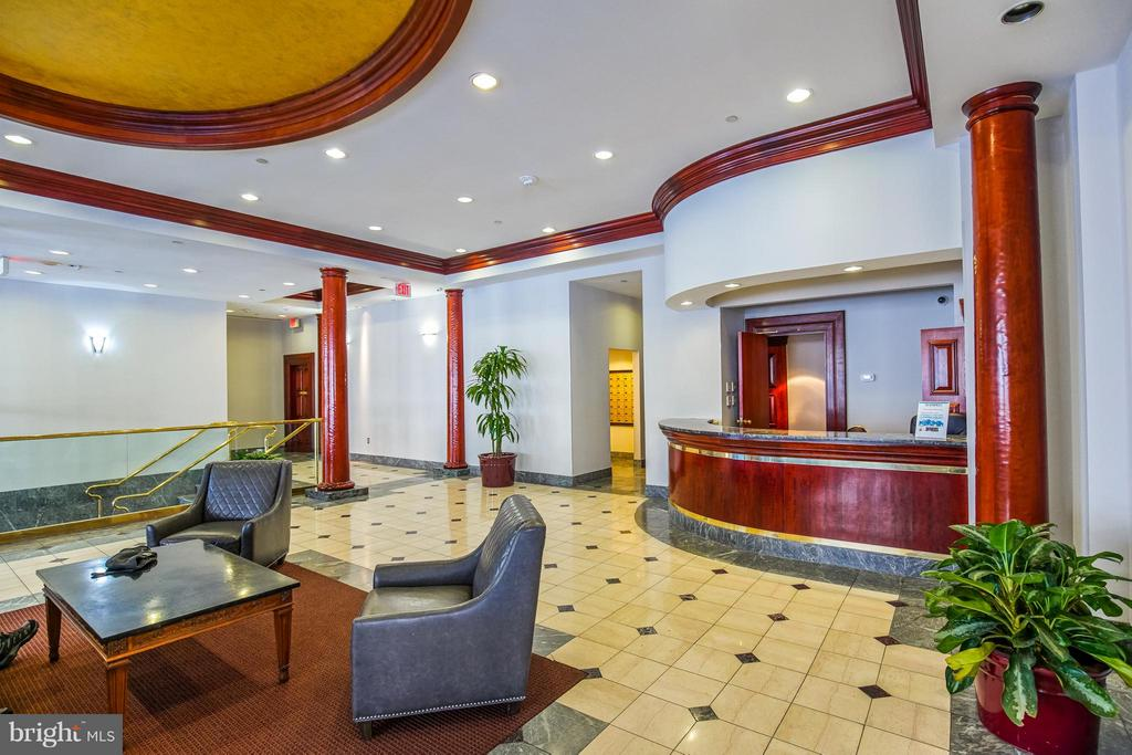 Lobby with Concierge - 1230 23RD ST NW #503, WASHINGTON