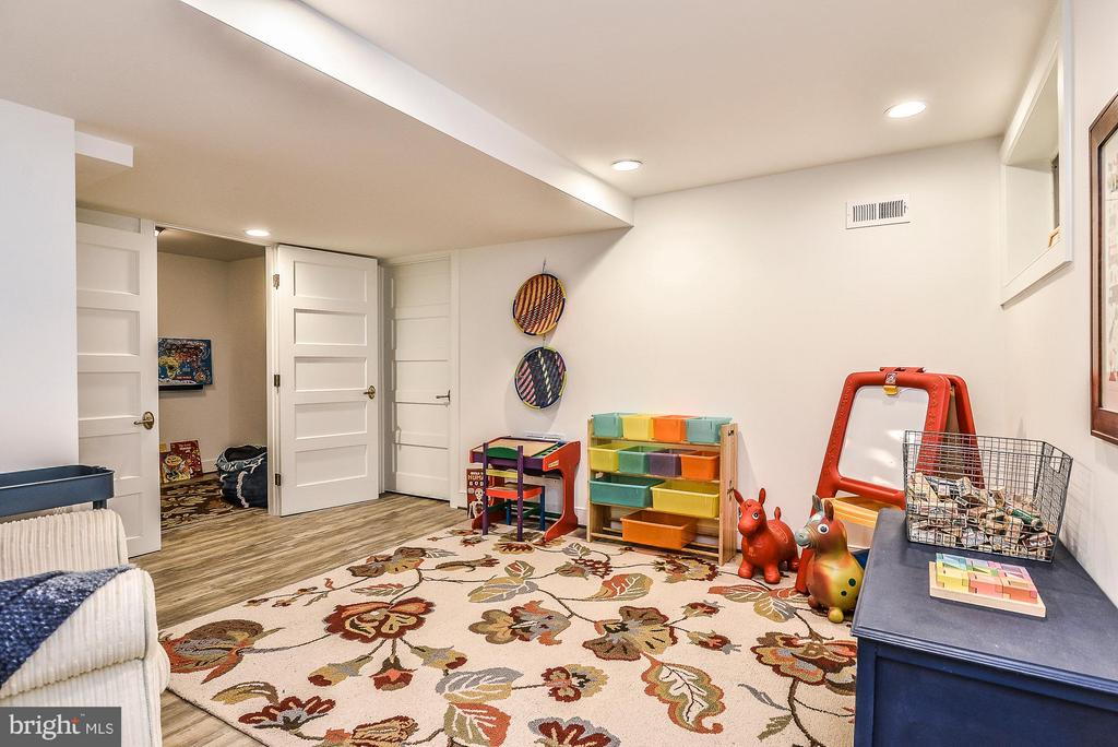 Lower Level Family Room - 2616 WEST STREET, FALLS CHURCH