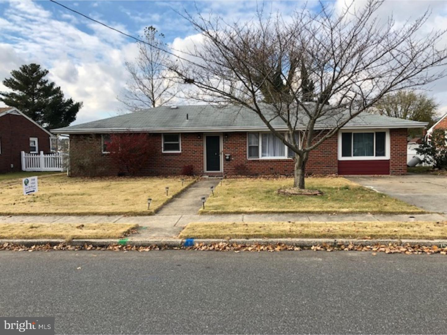 Single Family Home for Sale at 159 S SCHOOL Street Gibbstown, New Jersey 08027 United States