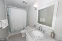 Updated Full Bath for upstairs bedrooms - 9109 WHITE CHIMNEY LN, GREAT FALLS