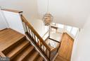 Lots of natural light, keeps the foyer bright - 9109 WHITE CHIMNEY LN, GREAT FALLS