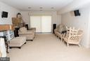 Walk out rec room with space for games and fun - 9109 WHITE CHIMNEY LN, GREAT FALLS