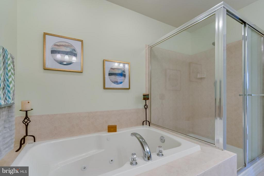 Jacuzzi tub and separate shower - 3530 CONNOR PL, FREDERICK