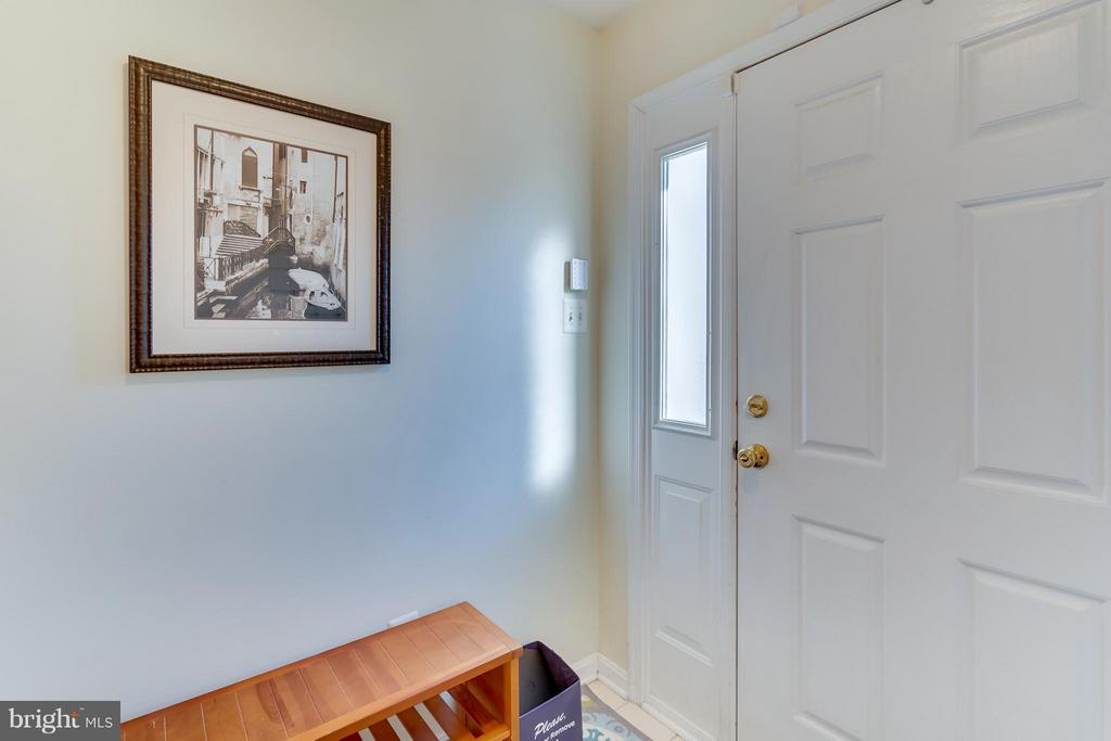 Bright & Airy entryway w transom flanking door - 3530 CONNOR PL, FREDERICK