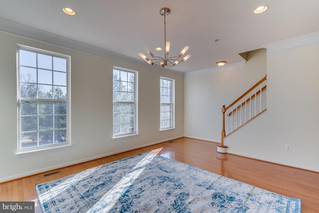 Plenty of natural light streaming through windows - 3530 CONNOR PL, FREDERICK