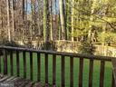 Wooded View from Deck - 7202 CATLETT ST, SPRINGFIELD
