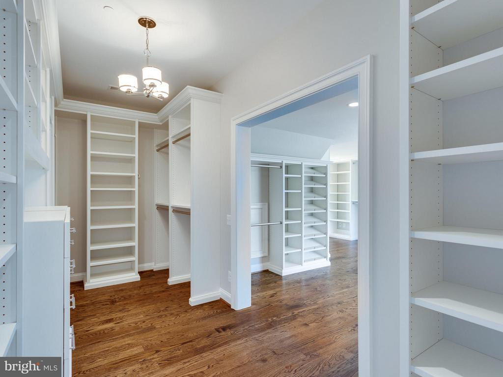 The ultimate walk-in closet. - 11701 VALLEY RD, FAIRFAX