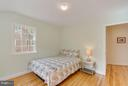 Front bedroom is spacious with great natural light - 233 WHITMOOR TER, SILVER SPRING