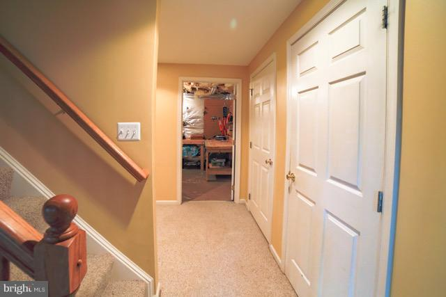 Lower level with extra storage and Fridge. - 109 LAKE VIEW WAY NW, LEESBURG