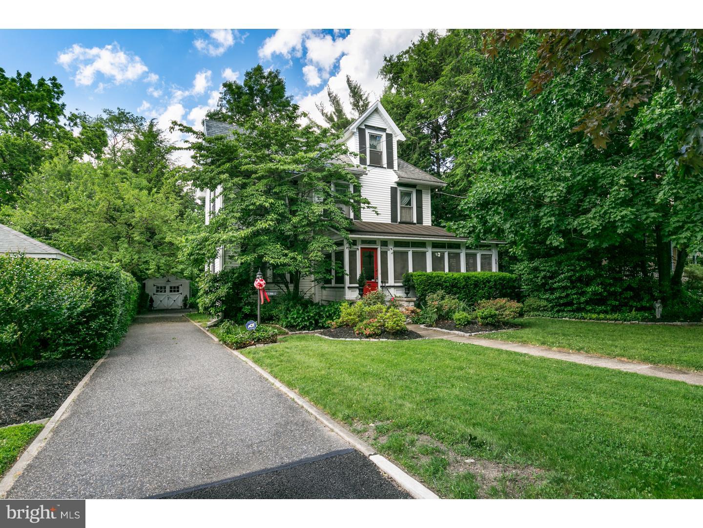 Maison unifamiliale pour l Vente à 15 E CEDAR Avenue Merchantville, New Jersey 08109 États-UnisDans/Autour: Merchantville