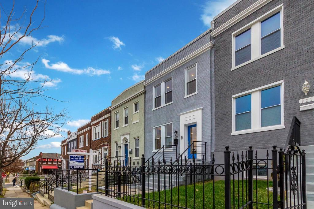 Tranquil Street in Brookland - 225 BRYANT ST NE, WASHINGTON