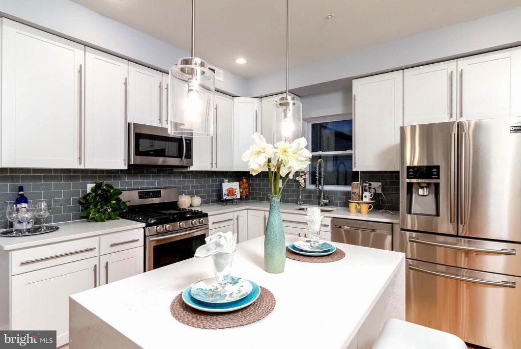 Tastefully Designed Kitchen - 225 BRYANT ST NE, WASHINGTON