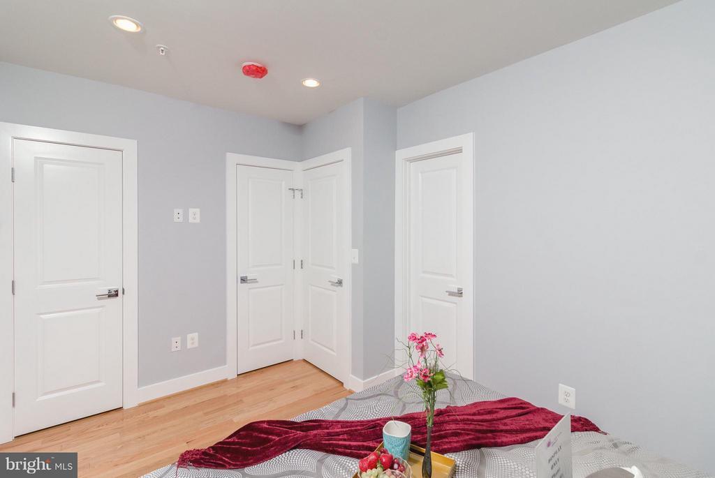 Conveniently Spacious Closets - 225 BRYANT ST NE, WASHINGTON