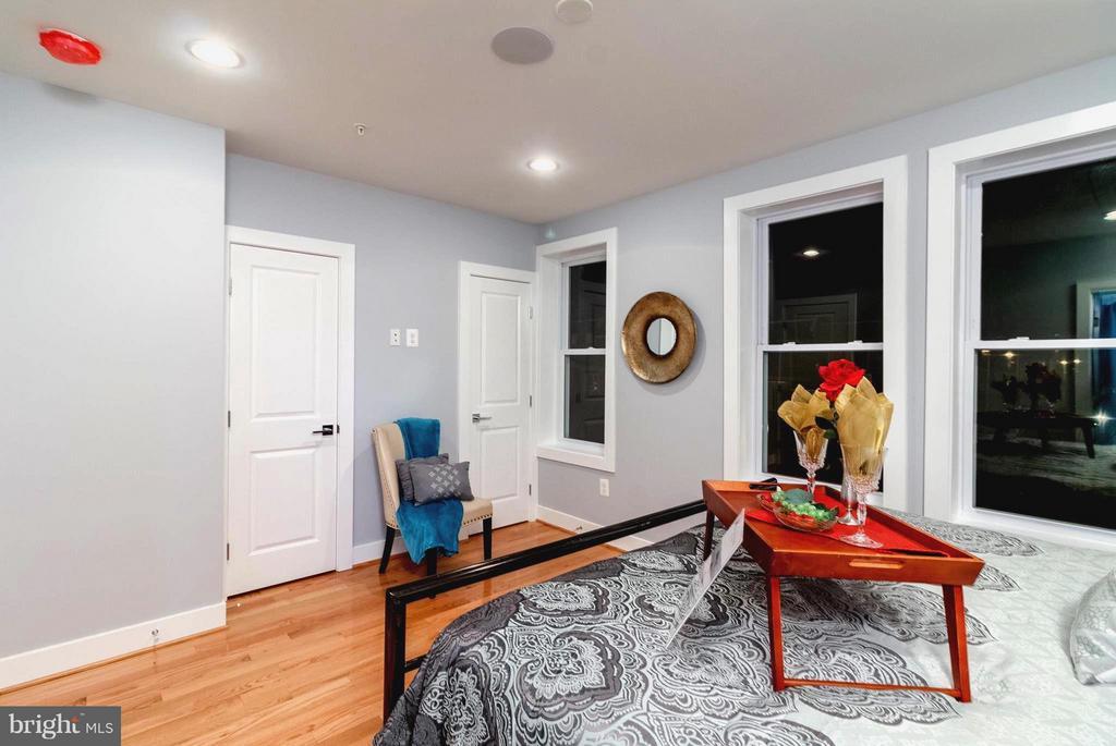 Bright Master Bedroom w/His & Hers Extras - 225 BRYANT ST NE, WASHINGTON