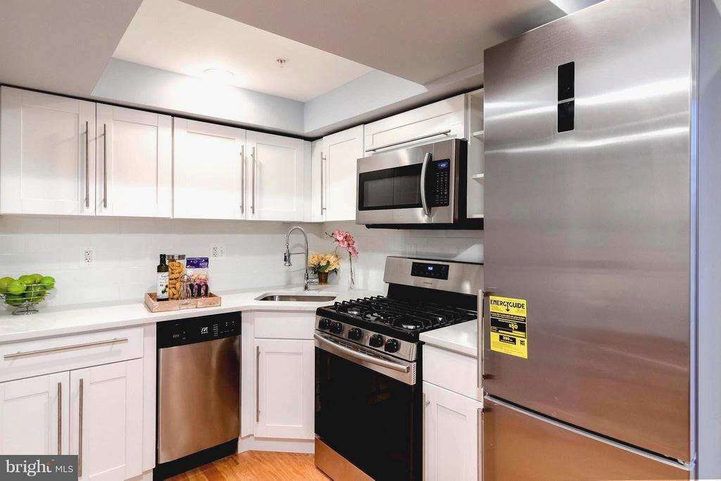 Time Saving Design in Basement Kitchen - 225 BRYANT ST NE, WASHINGTON