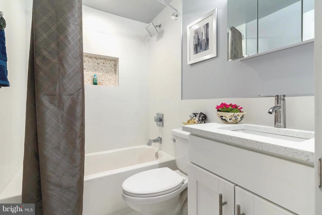 Bright and Fresh Basement Bathroom (3) - 225 BRYANT ST NE, WASHINGTON