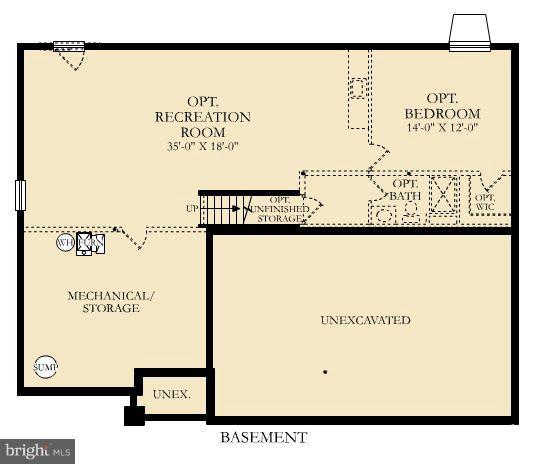 Floor Plan - ASPEN HIGHLANDS DRIVE- WASHINGTON, SPOTSYLVANIA