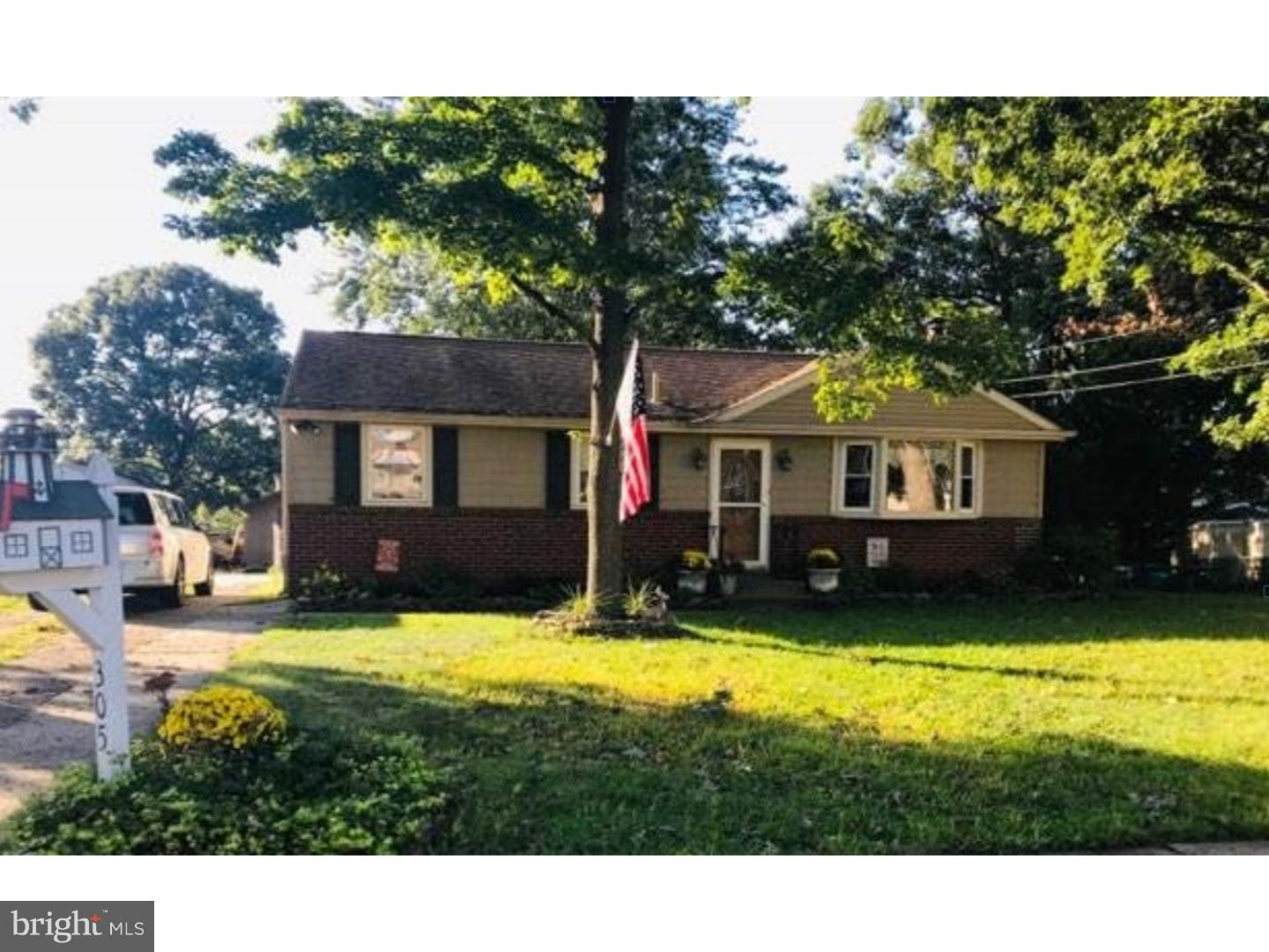 Single Family Home for Sale at 305 N 3RD Street National Park, New Jersey 08063 United States