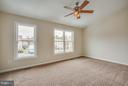 Master bedroom with full bath - 10600 GRETA LYNN CT, FREDERICKSBURG
