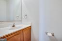 Main level powder room - 10600 GRETA LYNN CT, FREDERICKSBURG